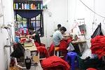 Proses Jahit Pabrik kaos murah