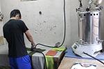 Proses Steam Pabrik kaos murah