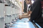 Proses bordir Pabrik kaos murah